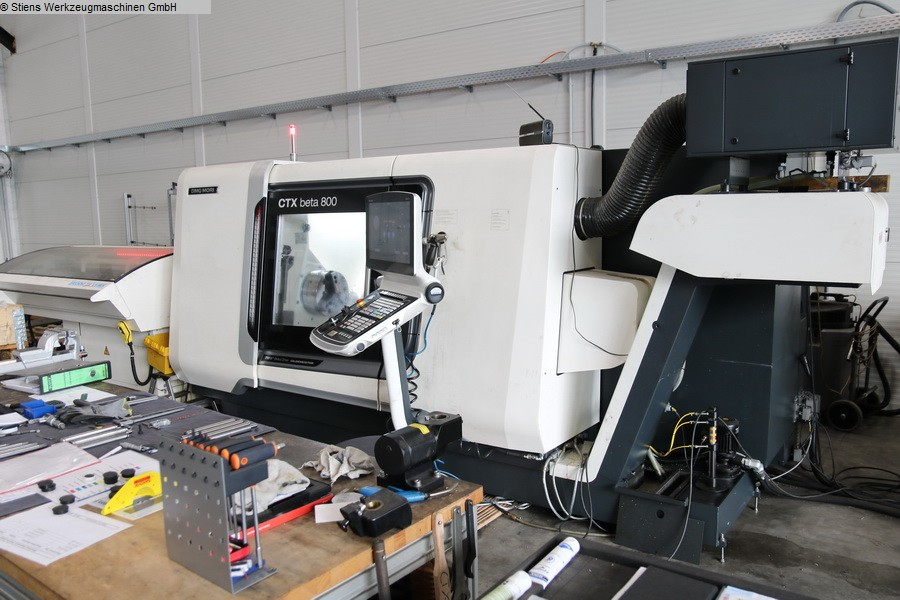 used  CNC Turning- and Milling Center DMG MORI CTX beta 800