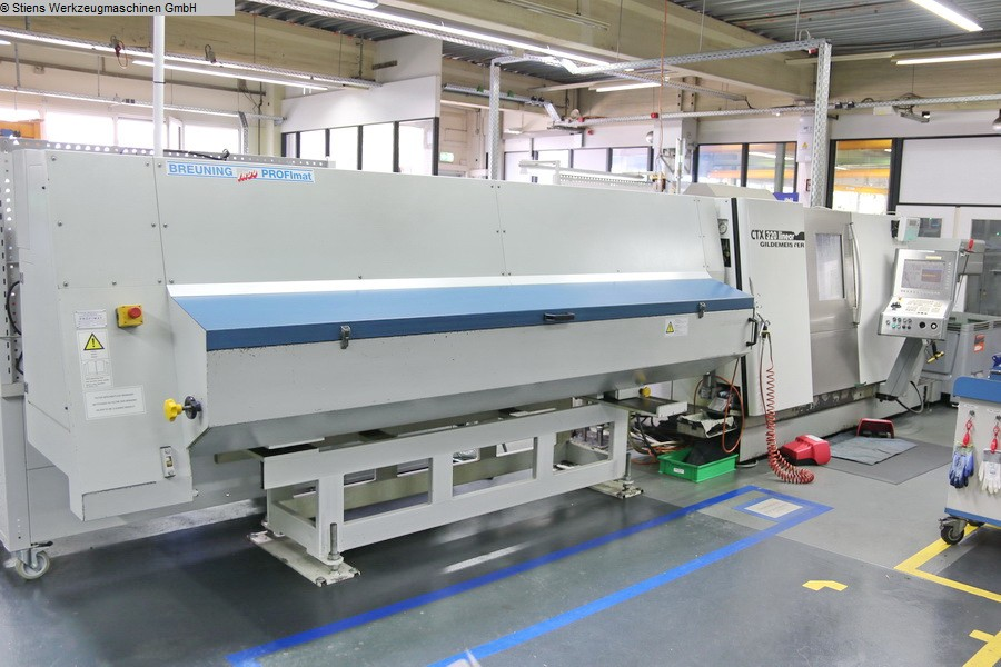used  CNC Turning- and Milling Center GILDEMEISTER CTX 320 linear V5