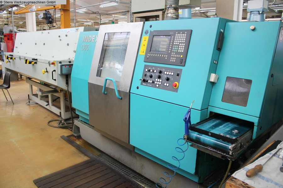 used  CNC Turning- and Milling Center INDEX C 65 SpeedLine (084)