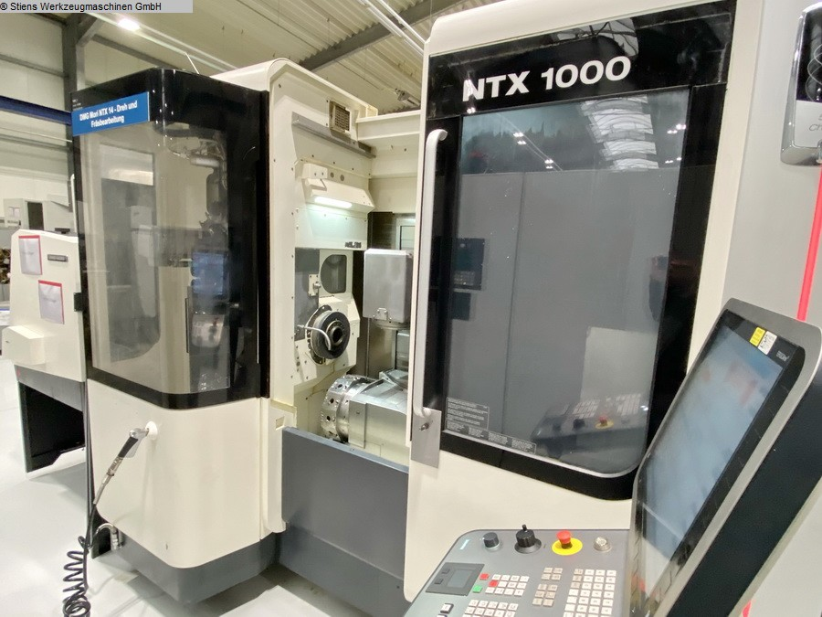 used  CNC Turning- and Milling Center MORI SEIKI NTX 1000