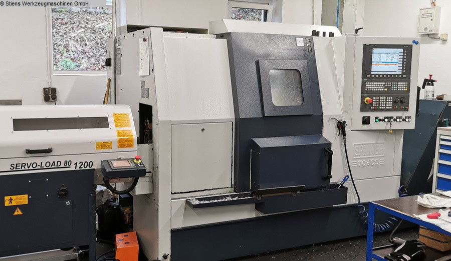 used  CNC Turning- and Milling Center SPINNER TC 600-52 SMCY