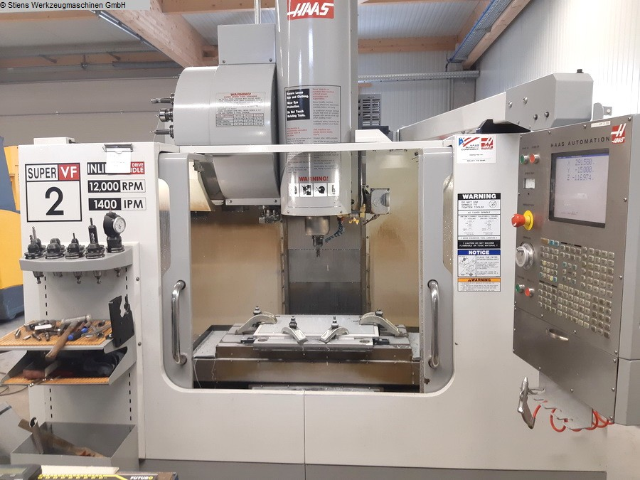 Centre d'usinage vertical MIKRON HAAS VF 2