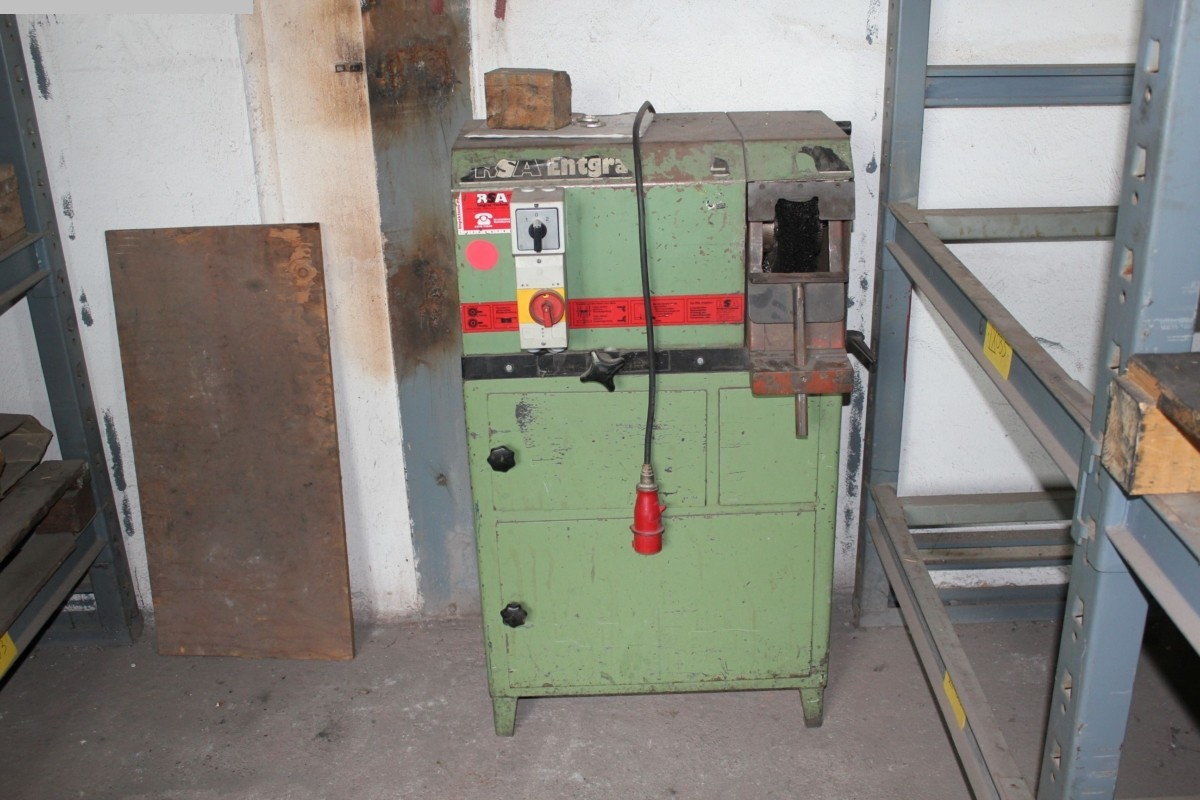 used Center-drilling machines Facing and Centering Machine RSA ENTGRAT-TECHNIK STL