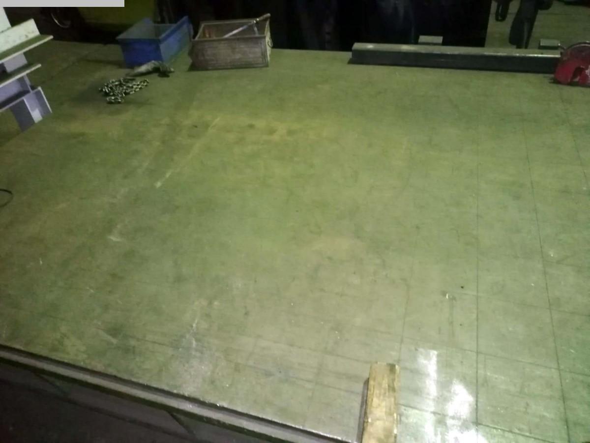 gebrauchte Anreißplatte UNBEKANNT 2000 x 3000
