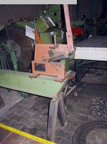 gebrauchte Blechbearbeitung / Scheren / Biegen / Richten Handhebel-Schere PEDDINGHAUS 4 RP 8