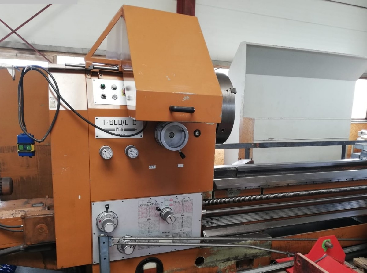 used  Center Lathe PBR T-600 LC
