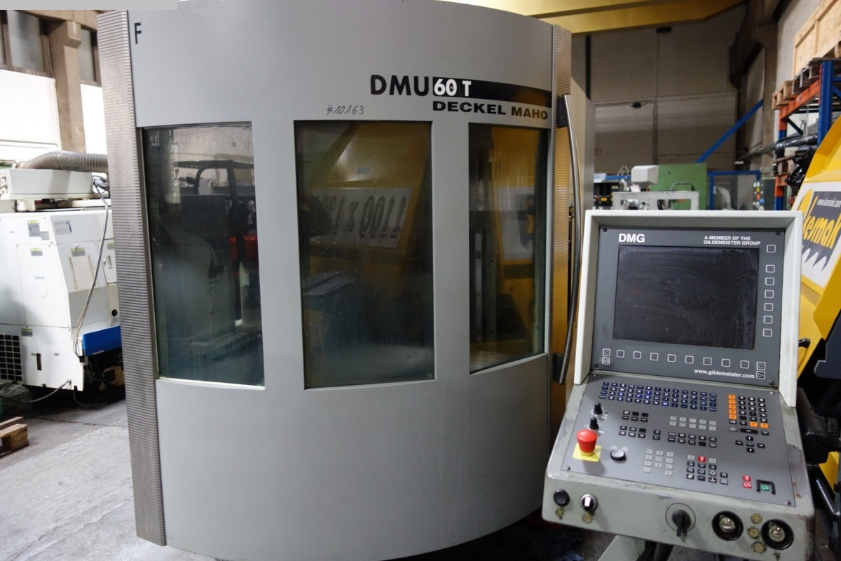 used  Machining Center - Universal DECKEL-MAHO DMU 60 T