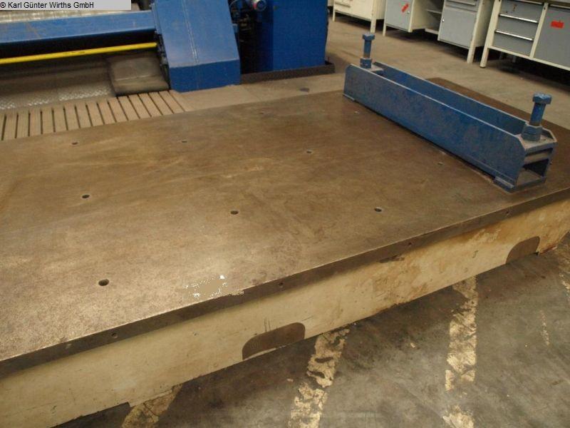 gebrauchte Maschinenzubehör Richtplatte UNBEKANNT 4000x1500x500