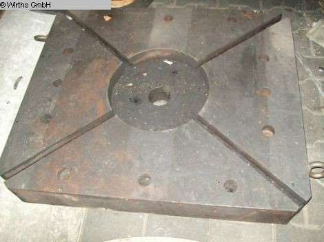 used Other Accessories for Machine Tools bolster plate UNBEKANNT/NOT KNOWN