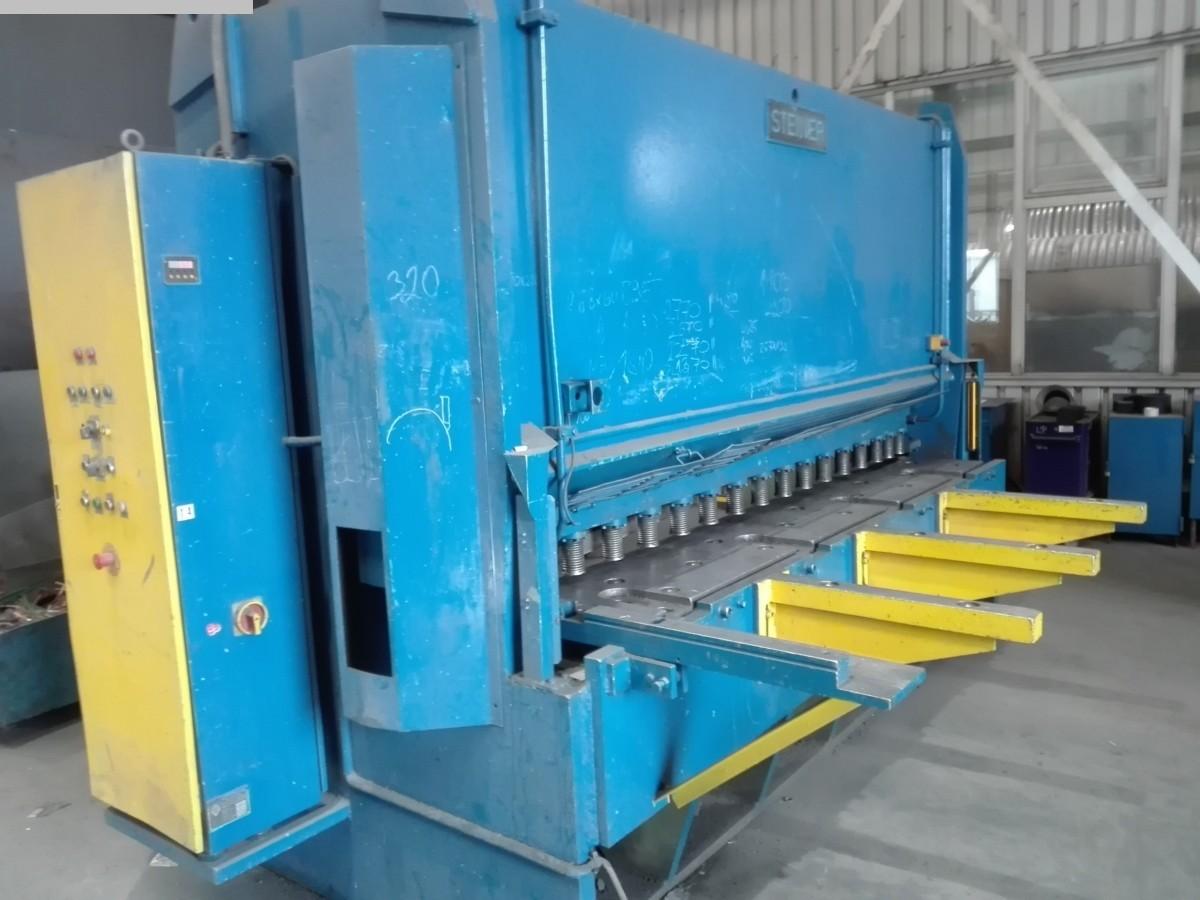 gebrauchte Blechbearbeitung / Scheren / Biegen / Richten Tafelschere - hydraulisch STEINER HTS 30/16