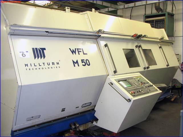 gebrauchte Maschine CNC Dreh- und Fräszentrum WFL  5-ACHSEN M 50