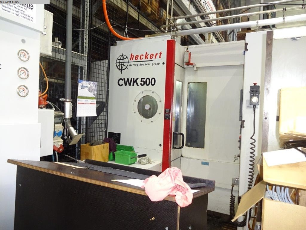 used Boring mills / Machining Centers / Drilling machines Machining Center - Horizontal STARRAG HECKERT CWK 500