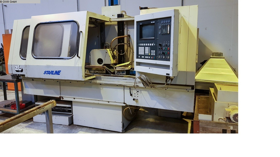 gebrauchte Schleifmaschinen Flachschleifmaschine - Horizontal ZIERSCH & BALTRUSCH 800 CNC Quick