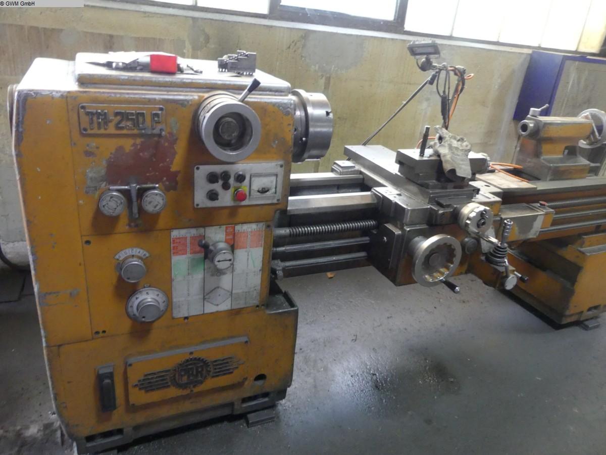 gebrauchte  Leit- und Zugspindeldrehmaschine PBR TM  250 P