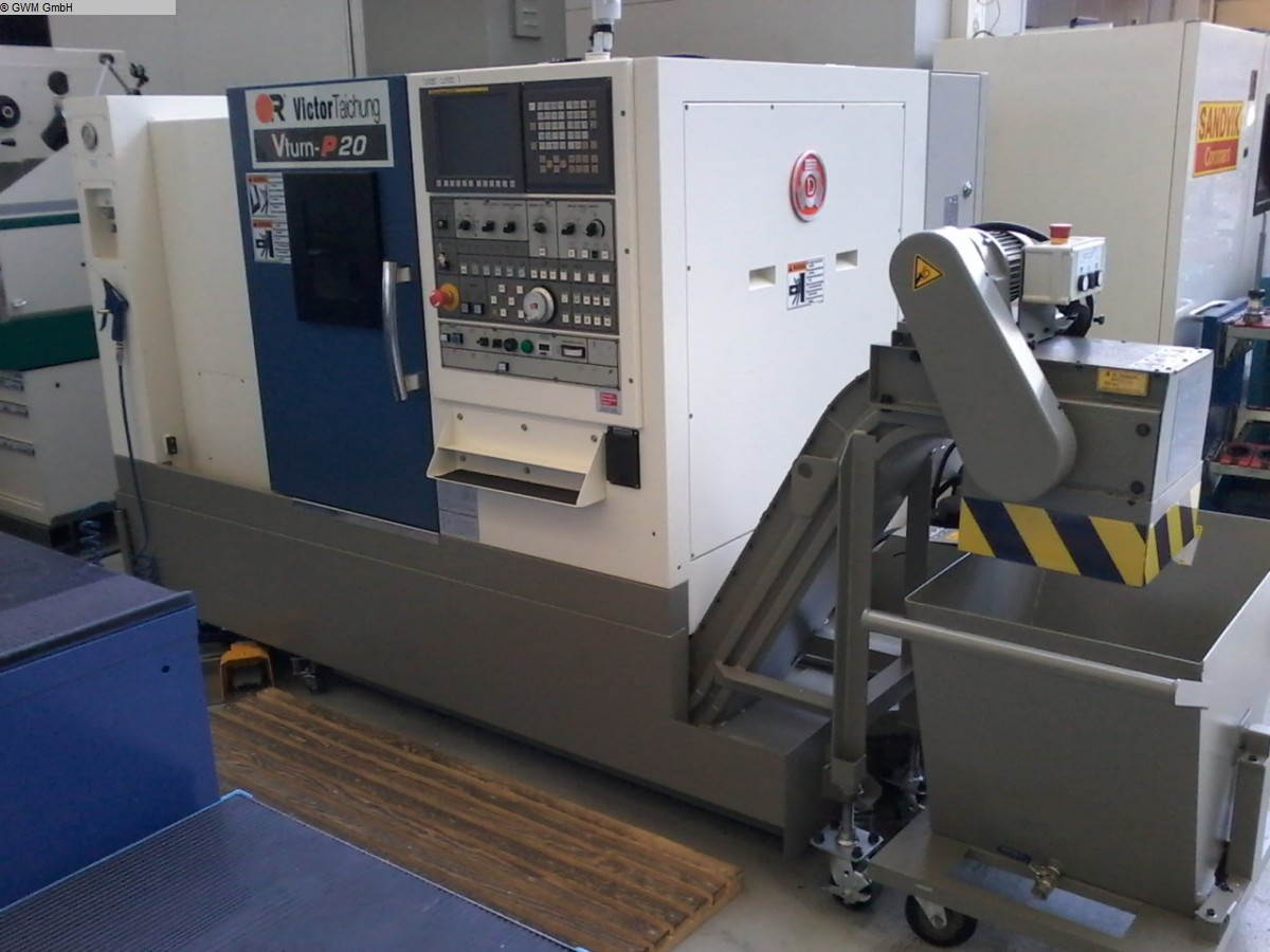used CNC Lathe - Inclined Bed Type VICTOR  VTurn P20