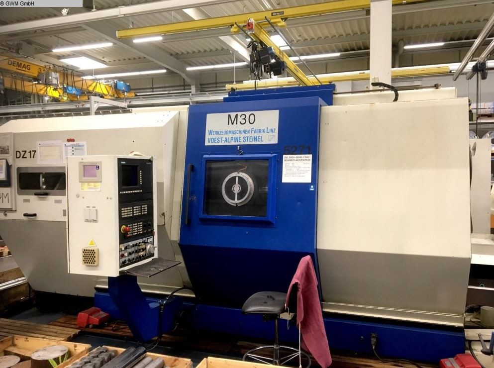 used  CNC Turning- and Milling Center WFL M30 x 950