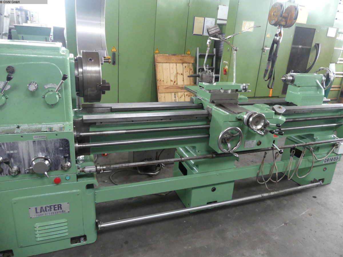 used Center Lathe Lacter CR-1-A-155