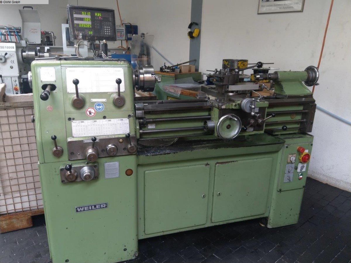 used  Center Lathe WEILER Condor-VS