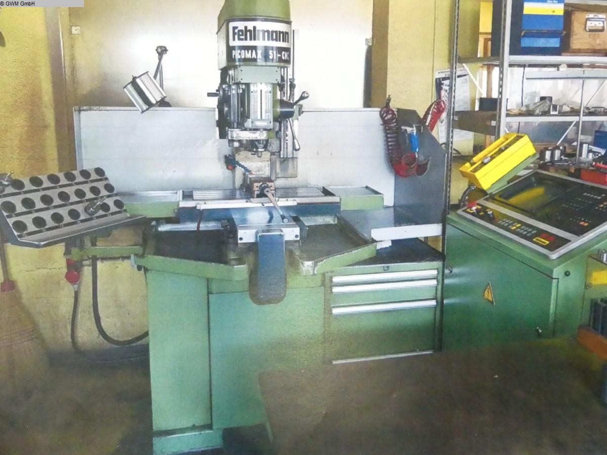 used  Jig Boring Machine FEHLMANN Picomax 51 CNC