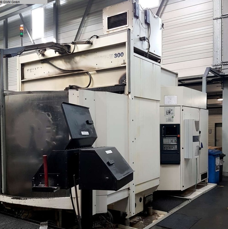 used  Machining Center - Horizontal HELLER MCP300