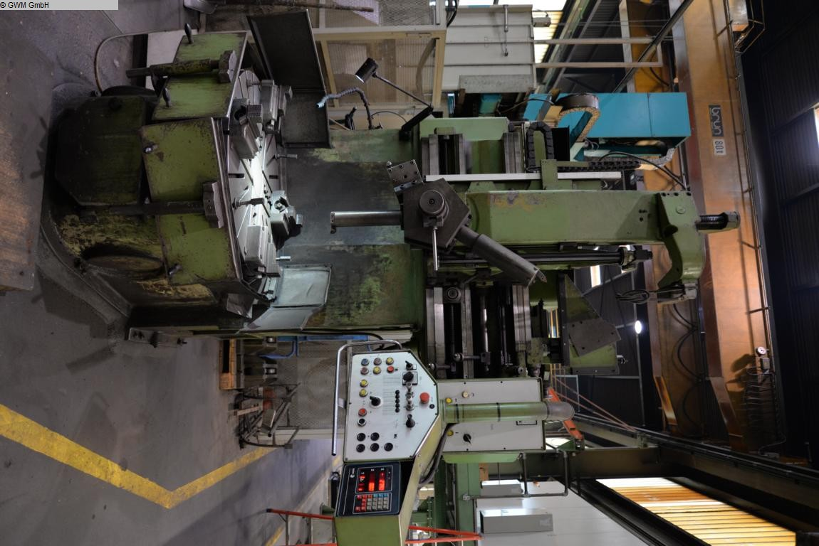 used Vertical Turret Lathe - Single Column JUNGENTHAL PK 8