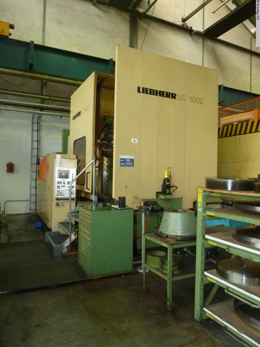 used Gear cutting machines Gear Hobbing Machine - Horizontal LIEBHERR LC 1002