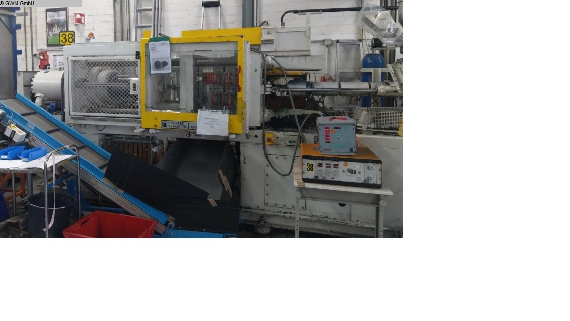 used Plastics / Packaging Injection molding machine up to 1000 KN KLOECKNER-FERROMATIC FM 160