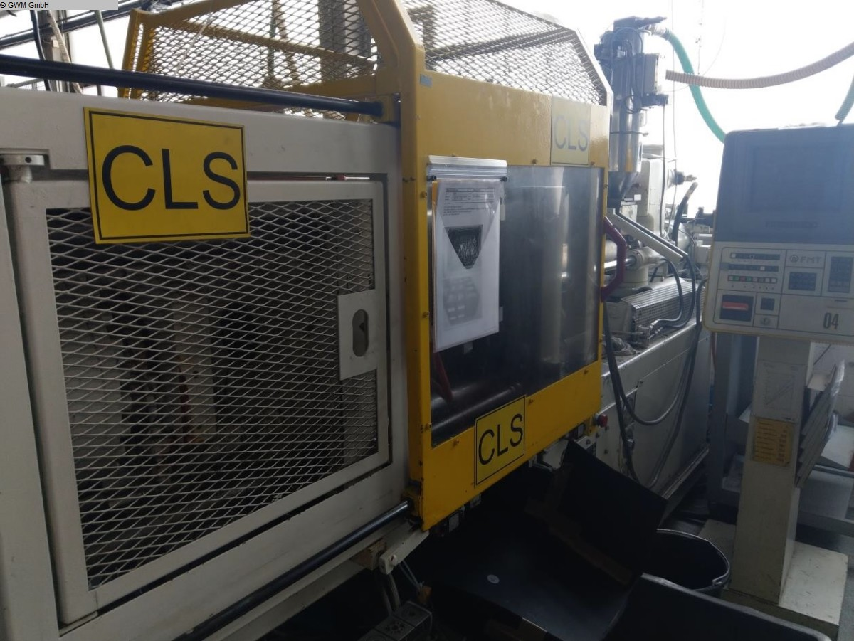gebrauchte Spritzgiessmaschinen Spritzgiessmaschine bis 1000 KN KLOECKNER-FERROMATIC FM 110