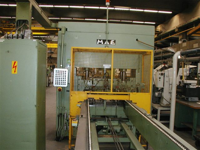 used Straightening Press - Double Column MAE ADS 16 RH
