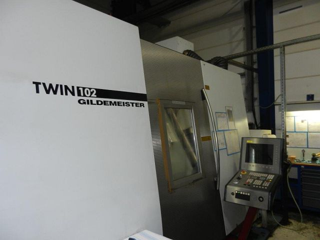 used CNC Turning- and Milling Center GILDEMEISTER TWIN 102