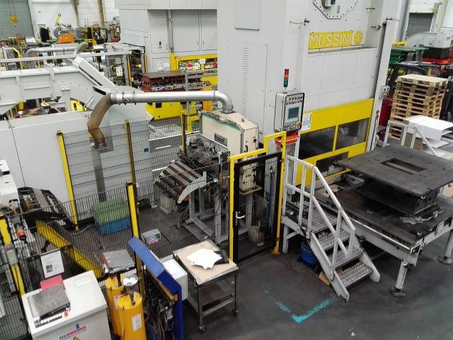 gebrauchte Maschine Doppelständer - Kurbelpresse MOSSINI