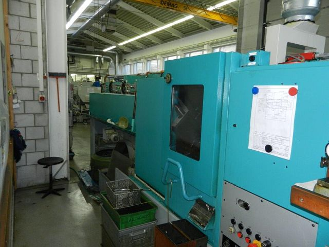 máquina usada Barra Automático Torno - Multi husillo INDEX MS 25
