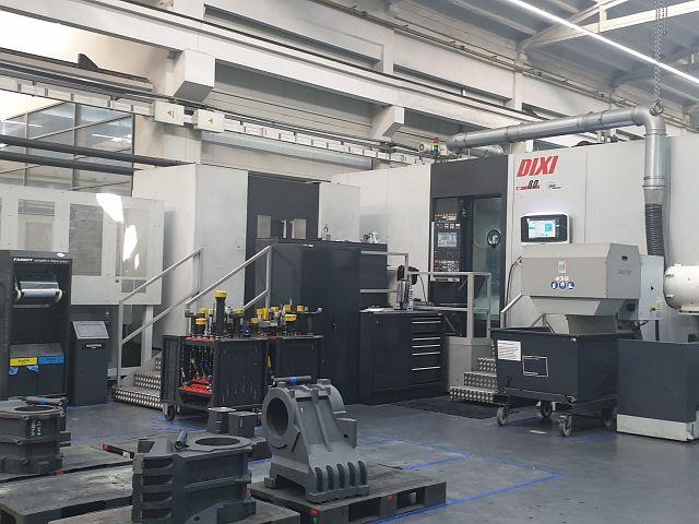 gebrauchte Bohrwerke / Bearbeitungszentren / Bohrmaschinen Bearbeitungszentrum - Horizontal DIXI DHP 80