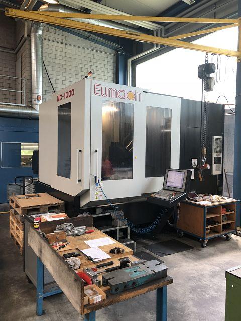 gebrauchte Bohrwerke / Bearbeitungszentren / Bohrmaschinen Bearbeitungszentrum - Universal EUMACH UMC 1000