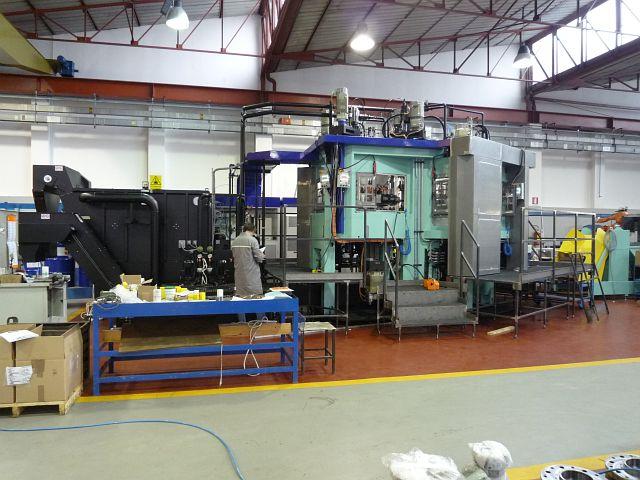 gebrauchte Fräsmaschinen Bearbeitungszentrum - Vertikal BUFFOLI OMNI-TURN 2D-TG10-9+