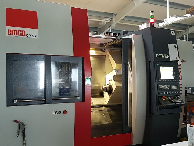 used Lathes CNC Turning- and Milling Center EMCO HT 65 SMY2B