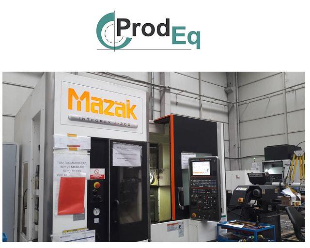 used Lathes CNC Turning- and Milling Center MAZAK INTEGREX J 200