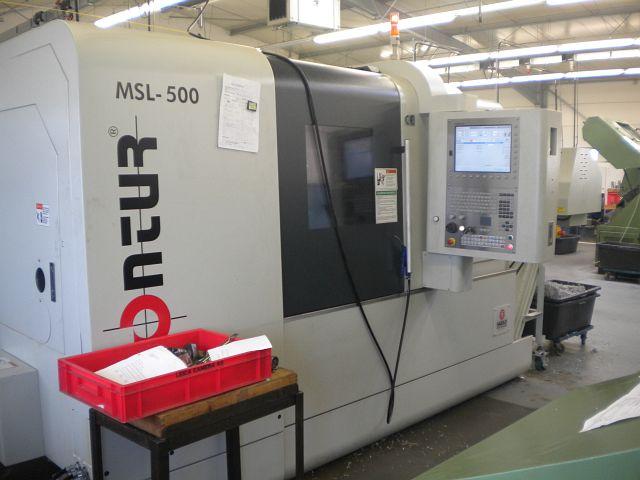 gebrauchte Drehmaschinen CNC Drehmaschine CONTUR MSL-500