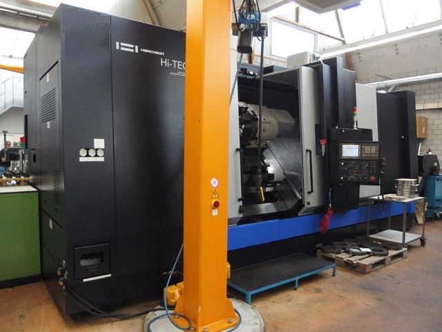 used Lathes CNC Turning- and Milling Center HWACHEON HI-TECH 850 MC