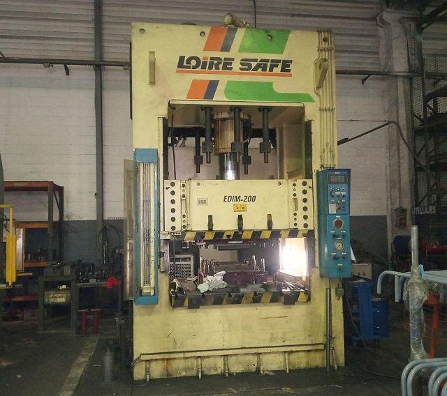gebrauchte Pressen und Bördelmaschinen Doppelständerpresse - Hydraulisch LOIRE SAFE EDIM-200/100