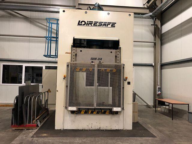 gebrauchte Pressen und Bördelmaschinen Doppelständerpresse - Hydraulisch LOIRE SAFE EDIM 350-150/16-14/14-12