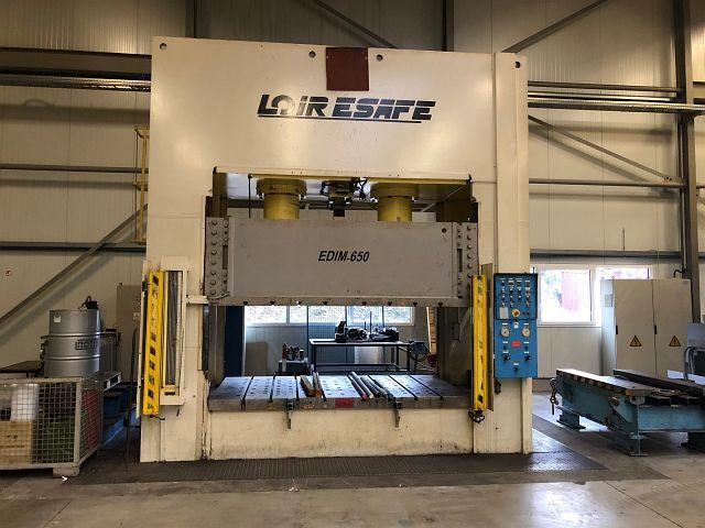 used Presses Double-Column Presse LOIRE SAFE EDIM 650-250