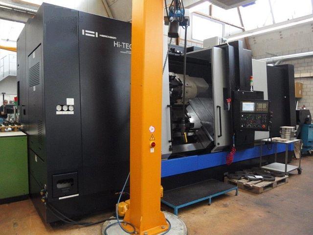 gebrauchte Drehmaschinen CNC Dreh- und Fräszentrum HWACHEON HI-TECH 850 MC