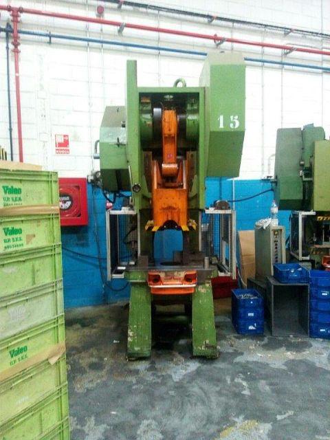 gebrauchte Pressen und Bördelmaschinen Einständerexzenterpresse GUILLEM 3RPE-80R (EN)