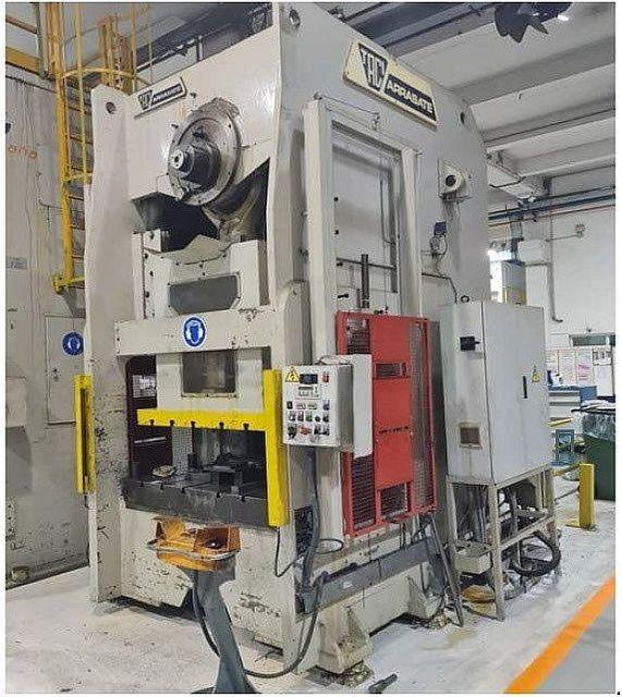 gebrauchte Pressen und Bördelmaschinen Einständerexzenterpresse TACI ARRASATE PSR-315