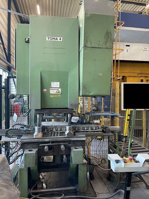 gebrauchte Pressen und Bördelmaschinen Einständerexzenterpresse TOMA LEXN 100 C