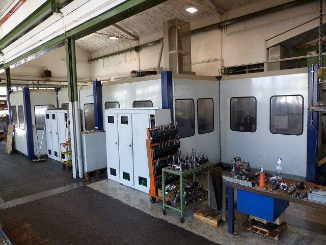 gebrauchte Fräsmaschinen Fahrständerfräsmaschine SORALUCE FP 8000