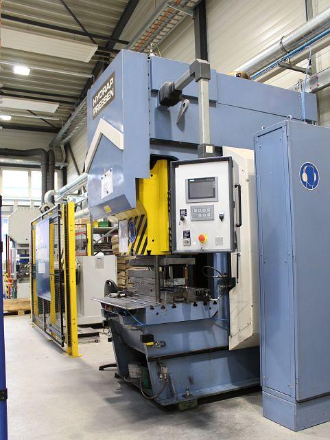 gebrauchte Pressen und Bördelmaschinen Hydraulische Presse HYDRAP HPS 6 63