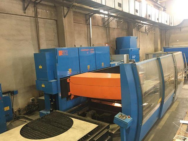 Machine de découpe laser PRIMA POWER PLATINO 1530 d'occasion