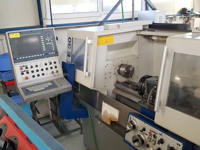 used Lathes Lathe -  cycle-controlled WEILER E 30